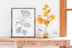 Fall For Fall SVG Bundle   Autumn Design Bundle Product Image 2