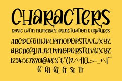 Buttery - a quirky hand drawn serif font! Product Image 4