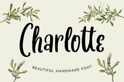 Web Font Charlotte - Beautiful Handmade Font Product Image 1