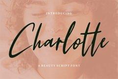 Charlotte - A Beauty Script Font Product Image 1