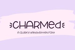 Charmed - a quirky handwritten font Product Image 1