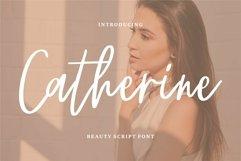 Web Font Chaterine - Beauty Script Font Product Image 1