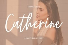 Chaterine - Beauty Script Font Product Image 1