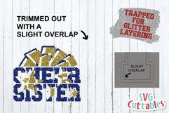 Cheer Sister SVG | Cheer Shirt Product Image 2