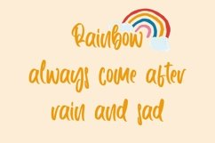 Web Font CheerfulPerson - Cute Handletter Font Product Image 2