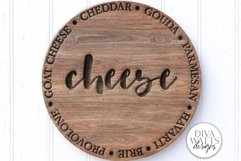 Cheese Board SVG | Charcuterie & Grazing Board Design | DXF Product Image 1