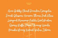 Cheesyfloat Monoline Script Font Product Image 6