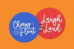 Cheesyfloat Monoline Script Font Product Image 2