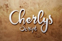 Cherlys Font Product Image 1