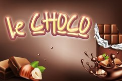 Choco Grandez| A Display Typeface Product Image 2