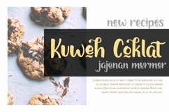 Web Font Chocolymes - Boldy Handwriting Script Font Product Image 4
