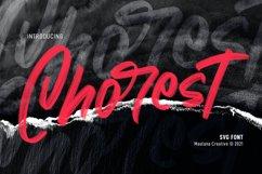 Chorest Svg Brush Font Product Image 1