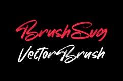 Chorest Svg Brush Font Product Image 4