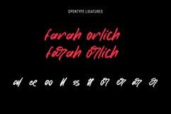 Chorest Svg Brush Font Product Image 2