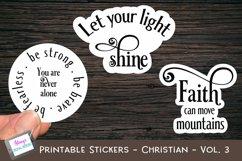 Christian Stickers Bundle - 12 Bible Verse Sticker Designs Product Image 4