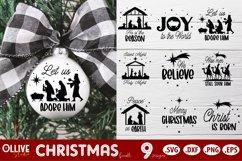 Christmas SVG Ornaments | Christmas SVG Product Image 1