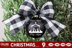 Christmas SVG Ornaments | Christmas SVG Product Image 2