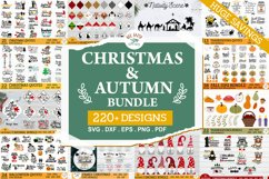 ULTIMATE Christmas and Fall, Autumn, thanksgiving bundle SVG Product Image 2