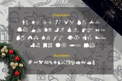 Web Font Christmas - Dingbats Font Product Image 2