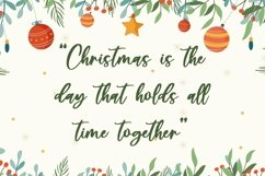 Web Font Christmas Festive - Beautiful Handwritten Font Product Image 4