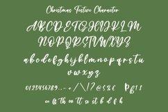 Web Font Christmas Festive - Beautiful Handwritten Font Product Image 3