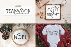 Christmas Font Bundle - 10 Fun Holiday Fonts for Crafters Product Image 4