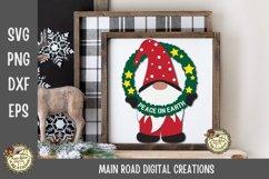 Christmas Gnomes SVG Bundle-Holiday Gnomes-Peace on Earth Product Image 4