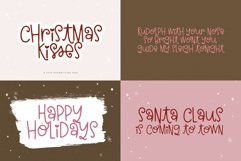 Christmas Font Bundle - 10 Fun Holiday Fonts for Crafters Product Image 6