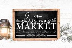 Christmas Market SVG   Winter Farmhouse Design Product Image 1