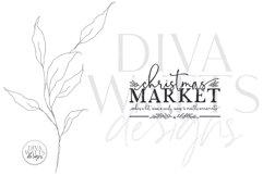 Christmas Market SVG   Winter Farmhouse Design Product Image 2
