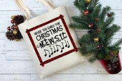 Christmas Cat Sublimation Design   Christmas Mewsic Product Image 3