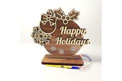 Christmas ornament holiday greetings