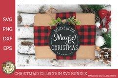 Round Christmas ornament designs, chalkboard design ornaments
