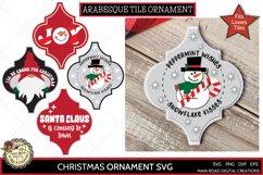 Arabesque tile ornament designs, Christmas designs for ornaments, snowman clipart, candy cane svg