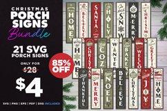 Mega Bundle | 21 Porch SVG Signs | Vintage Vertical Designs Product Image 1