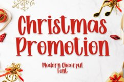 Christmas Promotion - Beauty Font Product Image 1