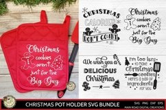 Christmas cookies aren't just for the big guy, Pot Holder designs for Christmas