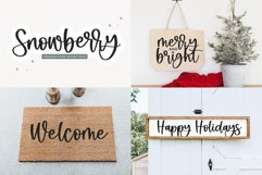 Christmas Font Bundle - 10 Fun Holiday Fonts for Crafters Product Image 3
