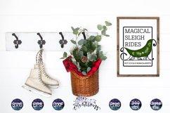Sleigh Christmas SVG Bundle Product Image 2