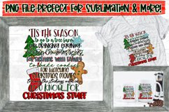 Christmas/Holiday Design Bundle |10 PNG Files|Sublimation Product Image 6