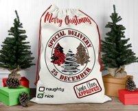 Santa Sack Bundle of 12 Designs | Christmas Gift Bag Print Product Image 5