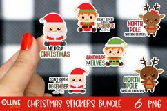 Christmas Sticker Bundle PNG | Christmas Sticker PNG Product Image 1
