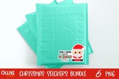 Christmas Sticker Bundle PNG | Christmas Sticker PNG Product Image 2