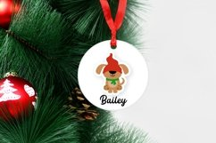Christmas Gnome family and lettering PNG sticker bundle Product Image 2