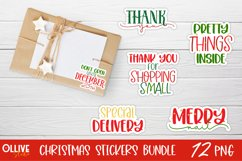 Christmas Small Business Sticker Bundle PNG | Christmas PNG Product Image 2