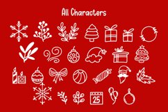 Christmas Party - Dingbat Font Product Image 2