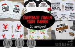 Christmas family shirt bundle, SVG, PNG, DXF Product Image 1