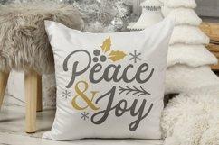 Christmas silver and Gold elegant SVG Bundle - 10 designs Product Image 2