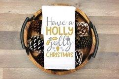 Christmas silver and Gold elegant SVG Bundle - 10 designs Product Image 3