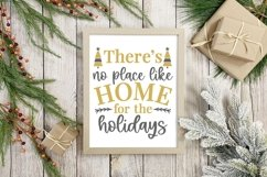 Christmas silver and Gold elegant SVG Bundle - 10 designs Product Image 6